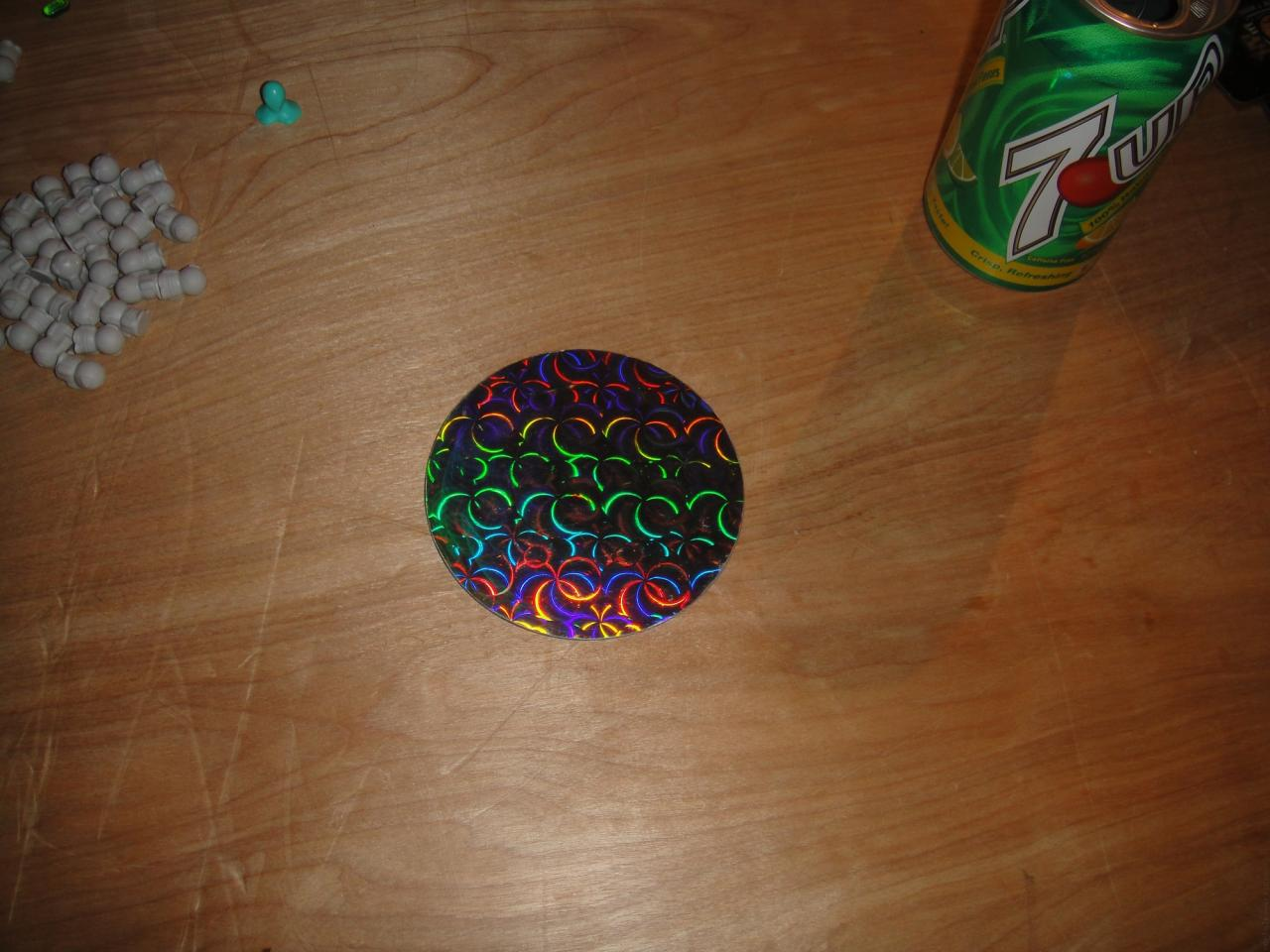 Holographic Disk
