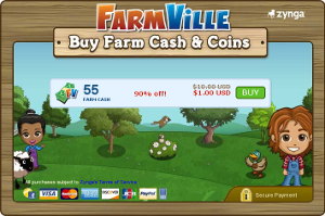 Farmville and Facebook are a great example of alternative digital currencies.