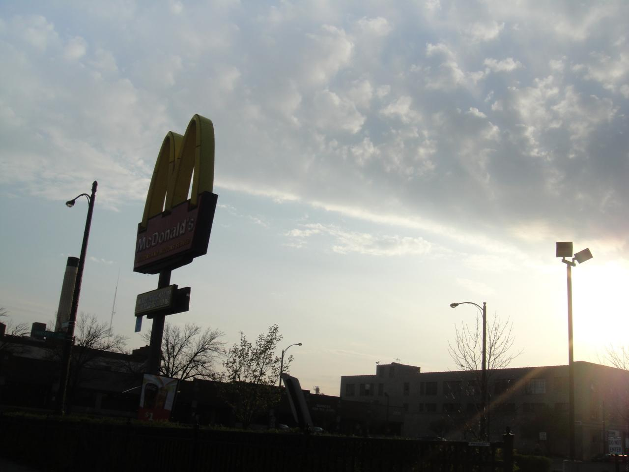 McDonalds in the Sky