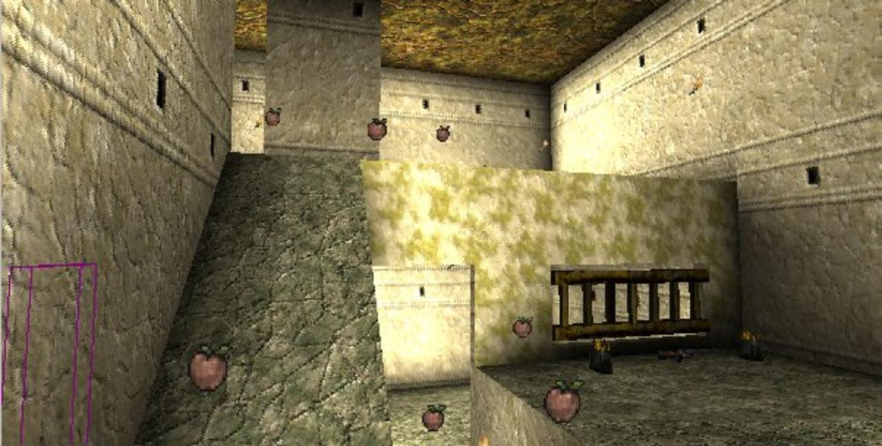 Unreal Tournament Map of old House