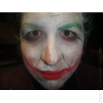Nick as Batman's The Joker