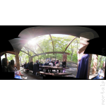 Forest Wedding Panorama